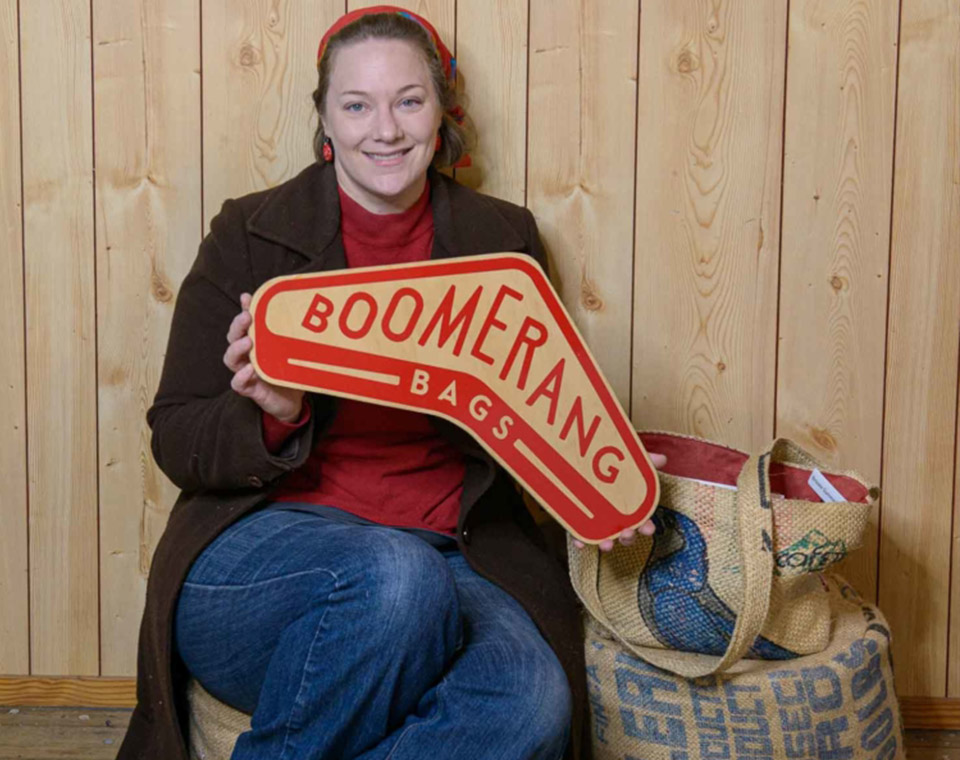 Boomerang Bags Stanthorpe — Upcycled Sewing
