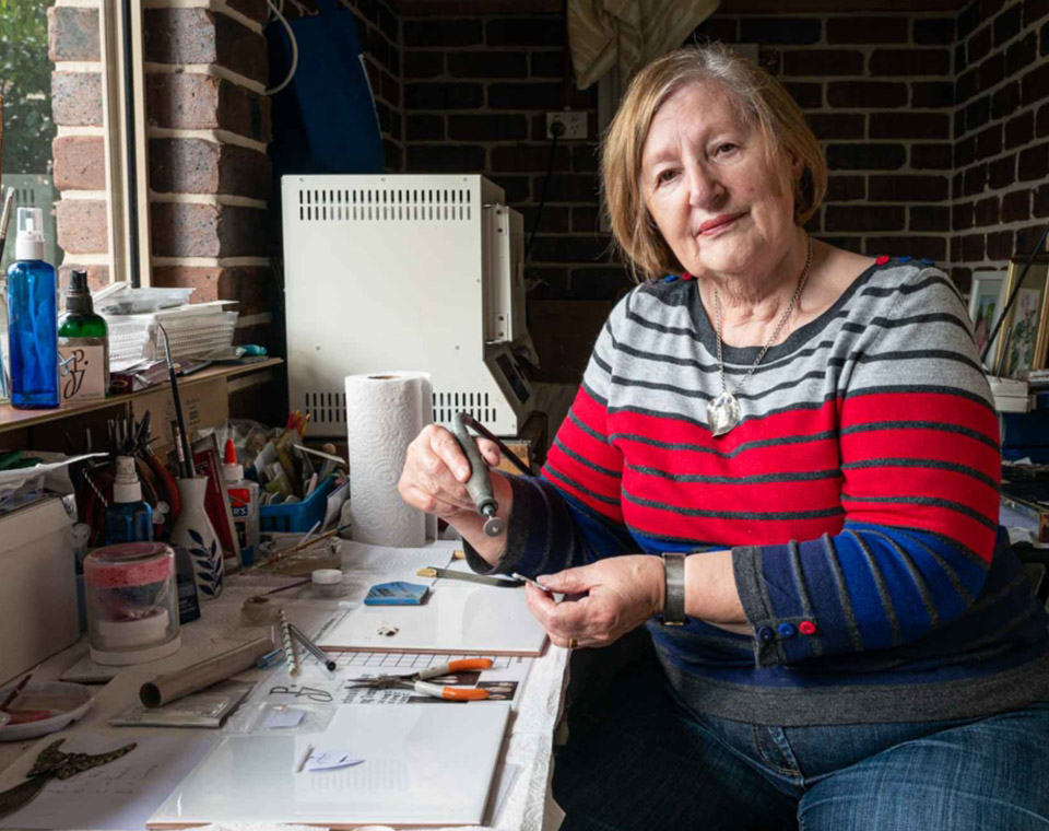 Pam Docherty — Precious Metal and Clay Jeweller